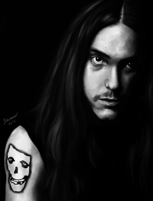 Cliff Burton by savanas